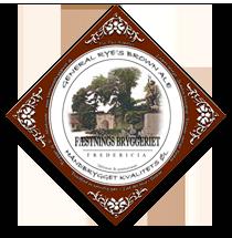 Etiket fra Fæstningsbryggeriet Fredericia